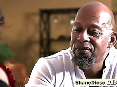 Glorious Jodi Taylor spreads legs for a BBC