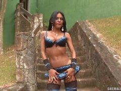 Shemale solo Luciana Foxx