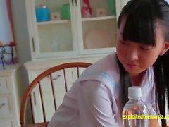Aoi Kojima Jav teenager debutto rotocalco Stelle stuzzica sotto la doccia ti dà un picco di sua fessura Attraverso