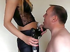 blond girl strapon fuck