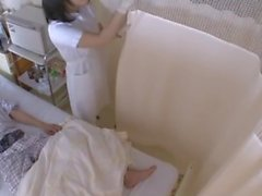 Masturbação japonesa com luvas