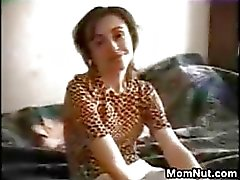 MILF Double Penetrated At Home