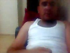 plusieurs guys consécutives pieds sur la webcam