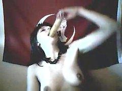 Webcam Teen Cunt With Banana