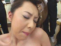 japansk sex gangbang