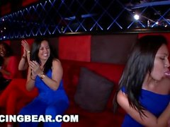 Dancing Bear - CFNM Whores Sucking Stripper Masculino Dick At The Club (db11453)