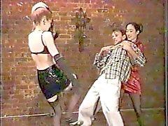 tied torture testicule ballbusting