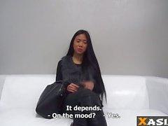 Asiatiska Vietnamesiskt tonåring första till video könet