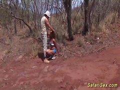 bebé africano salvaje ama sexo extremo