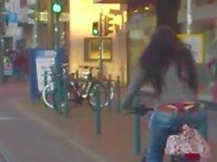 rojos cuerda de bicicletas