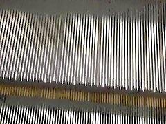 enorm belastning bak sexiga svart strumpa OL