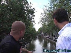 Dutch проститутка становится лицевого