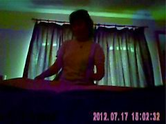 Chinese masseuse biedt happy end ( verborgen cam )