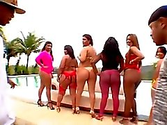 Enorme Bubble Butt Brazilian Orgy 7.o CD2