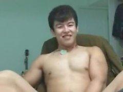 Cinese di coppia cute grosso pezzo nudo webcam in