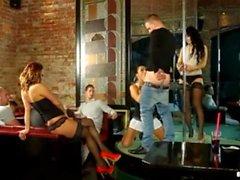 stripper klubba gå BI scen 1-