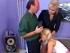 Blow job mature young