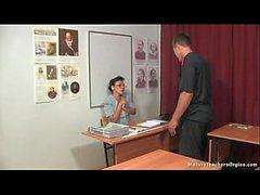 Rus olgun öğretmeni 13 - Kayla (tarih dersi)