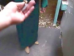 Epätoivoinen arabi typykkä suikaleet ja mulkut muukalainen käteiseksi