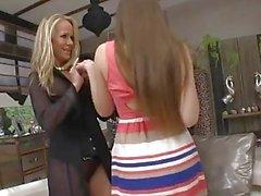 Simone Sonay And Taissia Shanti Hardcore Threesome