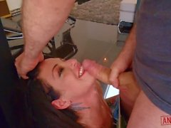 kissa sins at her most hardcore - painal extreme rough punishment enema