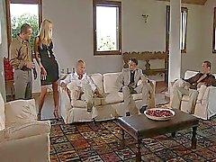 Blonde Julie Silver - Dubbele penetratie