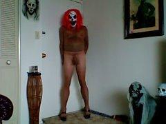 demente Trumpfhose Clown