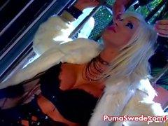 Sesso caldo Lesbiche svedese Puma & di Sadie !