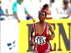Athletics - nipslip on world cup