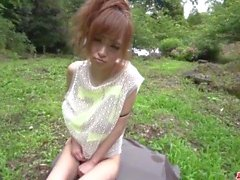 Fantasy outdoor sex in POV with slim Mikuru Shiina - More at Japanesemamas