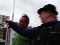 Hollandalı fahişe jizz alır