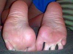 Rachel's feet