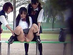 Japanese fetish teens pee