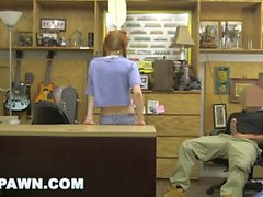 XXX PAWN - Redhead Teen Dolly Little Tries To Pawn Her Kayak
