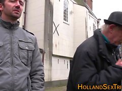 Hollandalı fahişe becerdin