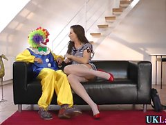 Collants brit clown cum