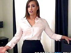 PropertySex - agente imobiliário sexy com bunda grande fode chefe para manter emprego