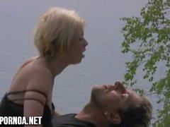 il sesso finlandese all'esterno sulla spiaggia Teen bionda che suomiporno della Finlandia