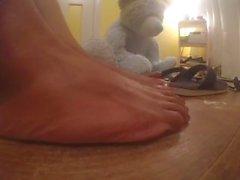 Mes longs pieds indiens