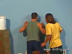 Дикая Coed Чик Авроры Захватывает Два мальчика Peeping над ней и просит тренером чтобы позволить ей проглотить свою Сперма По Грузы
