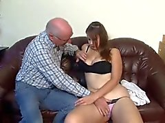Viejo sexo duro joven