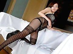 Sexy Lingerie Sivil Nude yılında Kore Güzellik