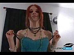 Gothic Mädchen Creampie POV