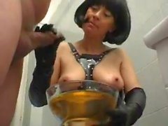 slave drink urine