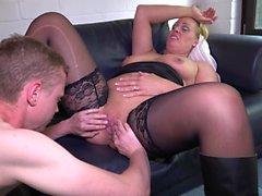 REIFE SWINGER - Hard fucking with mature German couple