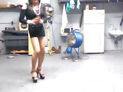 andreatravesty dancing before suck his bbc,