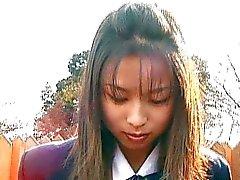 Japon sürtük ıslak külot var