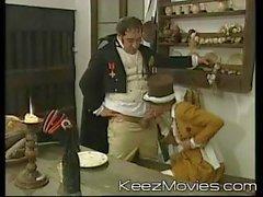 Du film XXX par de Napoléon blonde obtenir forés à bouche pleine