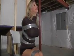 Blonde in basement