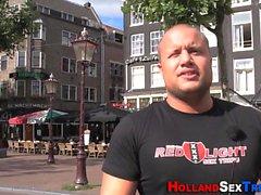 Jizz mouthed hooker néerlandais